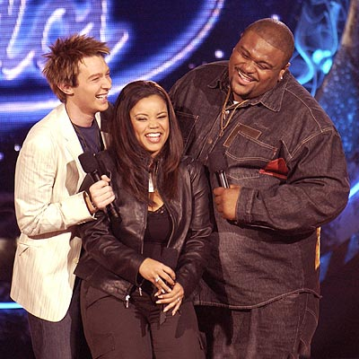 THE FINAL THREE photo | Clay Aiken, Kimberley Locke, Ruben Studdard