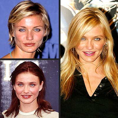 2009 Cameron Diaz long wavy hairstyle