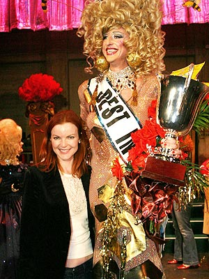WHAT A DRAG photo | Marcia Cross