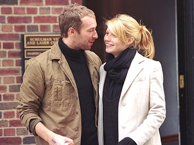 GWYNETH & CHRIS  photo | Chris Martin, Gwyneth Paltrow