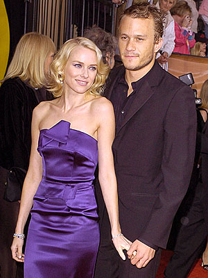 NAOMI & HEATH  photo | Heath Ledger, Naomi Watts