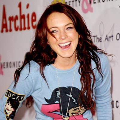 KEEPIN' IT REAL  photo | Lindsay Lohan