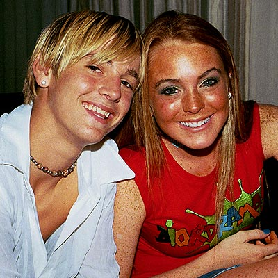 LOVE TRIANGLE  photo | Aaron Carter, Lindsay Lohan
