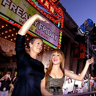 IT'S A HIT photo | Jamie Lee Curtis, Lindsay Lohan
