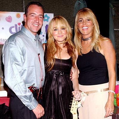 WE ARE FAMILY  photo   Lindsay Lohan