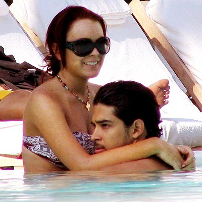 STAYING AFLOAT photo | Lindsay Lohan, Wilmer Valderrama