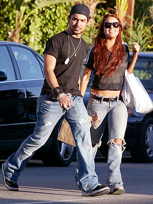GETTING SPIRITUAL photo | Lindsay Lohan, Wilmer Valderrama
