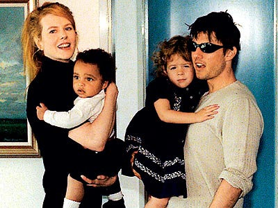 ... AND BABIES MAKE FOUR  photo | Nicole Kidman, Tom Cruise