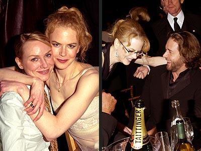 AUSSIE POSSE  photo | Naomi Watts, Nicole Kidman, Russell Crowe