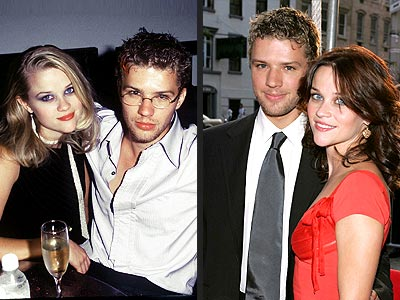 Reese Witherspoon Wedd... Ryan Phillippe Wedding