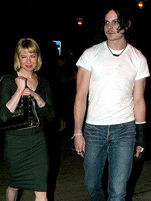 ODD COUPLE photo | Jack White, Renee Zellweger