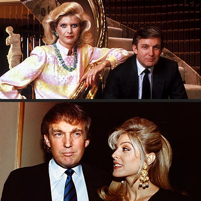 DONALD TRUMP, IVANA TRUMP & MARLA MAPLES photo | Donald Trump, Ivana Trump, Marla Maples Trump