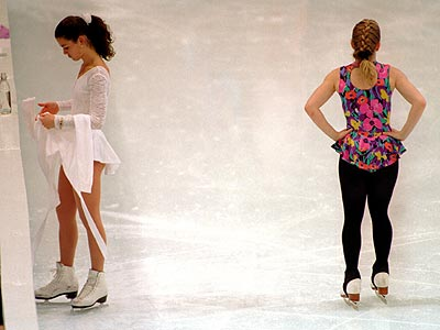 NANCY KERRIGAN & TONYA HARDING photo | Nancy Kerrigan, Tonya Harding