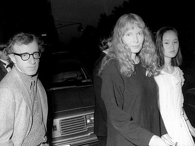 WOODY ALLEN, MIA FARROW & SOON-YI photo | Woody Allen