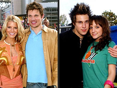 THEIR MEN: photo | Ashlee Simpson, Jessica Simpson, Nick Lachey, Ryan Cabrera