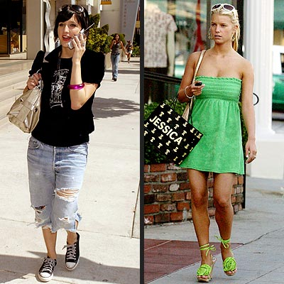 THEIR PERSONAL STYLE: photo | Ashlee Simpson, Jessica Simpson