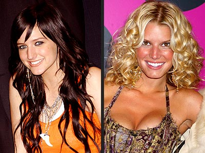 THEIR HAIR: photo | Ashlee Simpson, Jessica Simpson