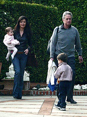 FAMILY TIME  photo | Catherine Zeta-Jones, Michael Douglas