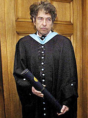 Bob Dylan Gets Degree and Makes Getaway