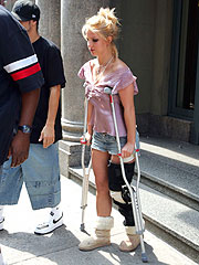 Britney's Bad Knee a Costly Proposition