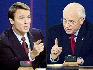 Edwards, Cheney Come Out Swinging in Debate