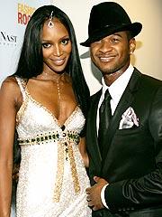 Naomi Campbell Surprises Boyfriend Usher