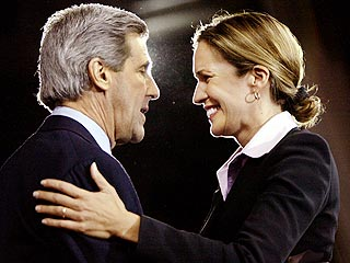 Dana Reeve Joins Kerry on Campaign Stump | Dana Reeve, John Kerry