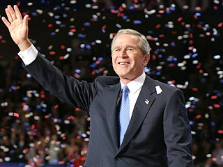 Bush Wins Election As Kerry Concedes | 2004 Presidential Elections, George W. Bush