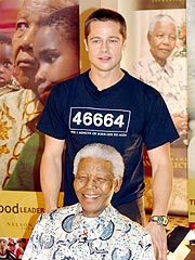 Brad Pitt Visits Africa to Help Fight AIDS | Brad Pitt