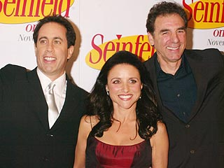 Seinfeld Stars Reunite in New York | Seinfeld