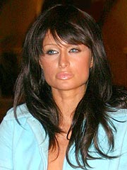 Blonde Paris Hilton Turns Brunette