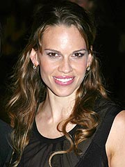 Hilary Swank Briefly Hospitalized
