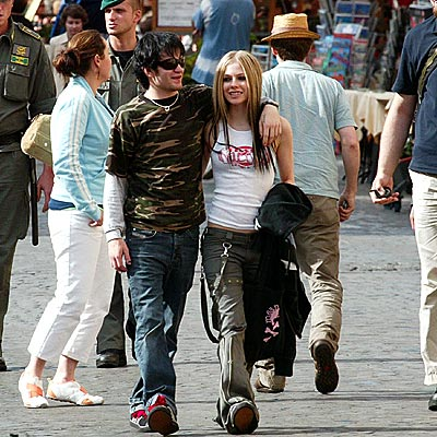 ROMAN HOLIDAY photo | Avril Lavigne, Derick Whibley