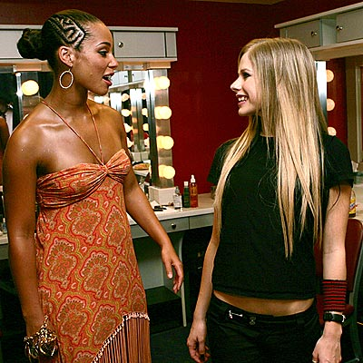 PERFECT HARMONY photo | Alicia Keys, Avril Lavigne