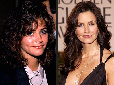 courteney cox family ties