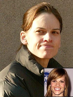 COVER UP photo | Hilary Swank