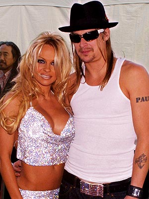 ROCK SOLID photo | Kid Rock, Pamela Anderson
