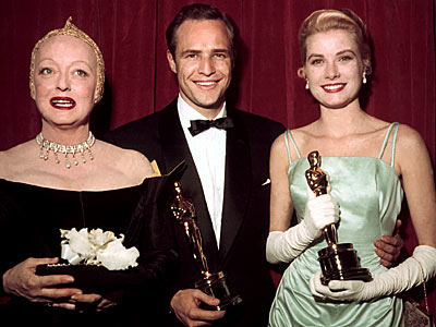  photo | Bette Davis, Grace Kelly, Marlon Brando