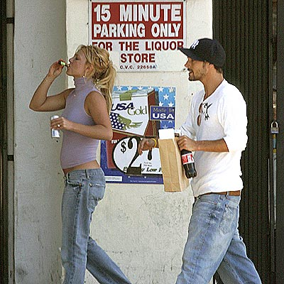 JULY 12: SANTA MONICA, CALIF.  photo | Britney Spears, Kevin Federline