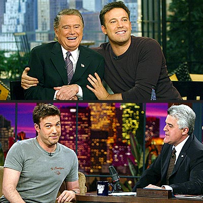 SHOW MAN photo | Ben Affleck, Regis Philbin