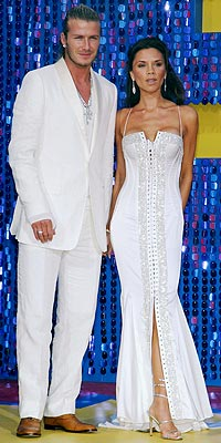 WHITE HOT photo | David Beckham, Victoria Beckham