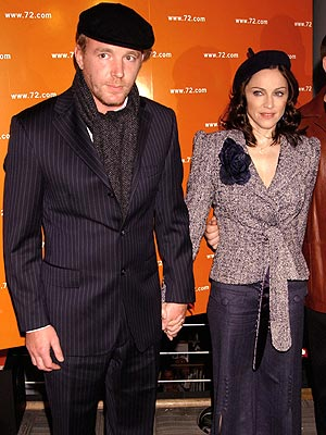 MATERIAL COUPLE photo | Guy Ritchie, Madonna
