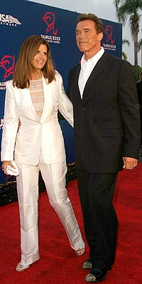 WELL SUITED photo | Arnold Schwarzenegger, Maria Shriver