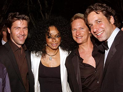 DIANA ROSS & THE QUEER EYE GUYS  photo | Carson Kressley, Diana Ross, Kyan Douglas, Thom Filicia