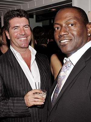 SIMON COWELL & RANDY JACKSON  photo | Randy Jackson, Simon Cowell