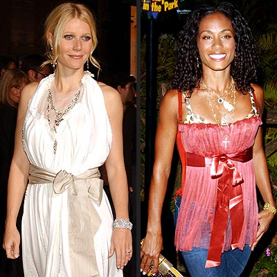 HOLIDAY TREND: RIBBONS photo | Gwyneth Paltrow, Jada Pinkett Smith