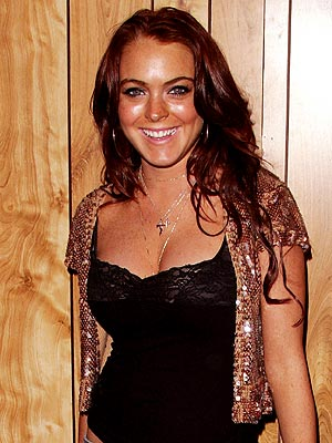 HOLIDAY TREND: SEQUINS photo | Lindsay Lohan