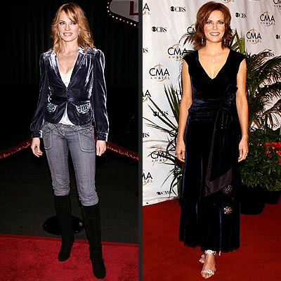 HOLIDAY TREND: VELVET photo | Marg Helgenberger, Martina McBride
