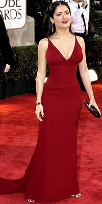 LADY IN RED photo | Salma Hayek