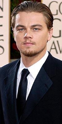 MAN IN BLACK photo | Leonardo DiCaprio